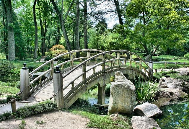Brücke Im Garten
