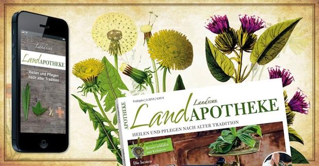 """Für Gärtner und Naturfreunde: Die """"LandApotheke"""" mobil lesen"""