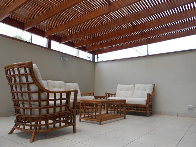 Ein Wohnzimmer im Garten: Die Terrasse