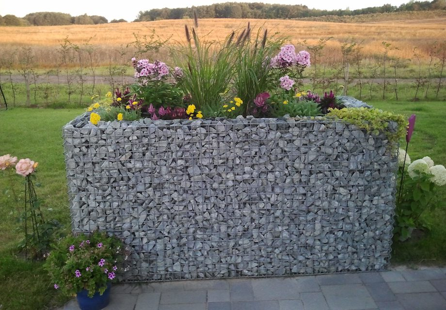 Gabionen Für Ein Hochbeet Etwas Anders Gärtnern Garden Blog